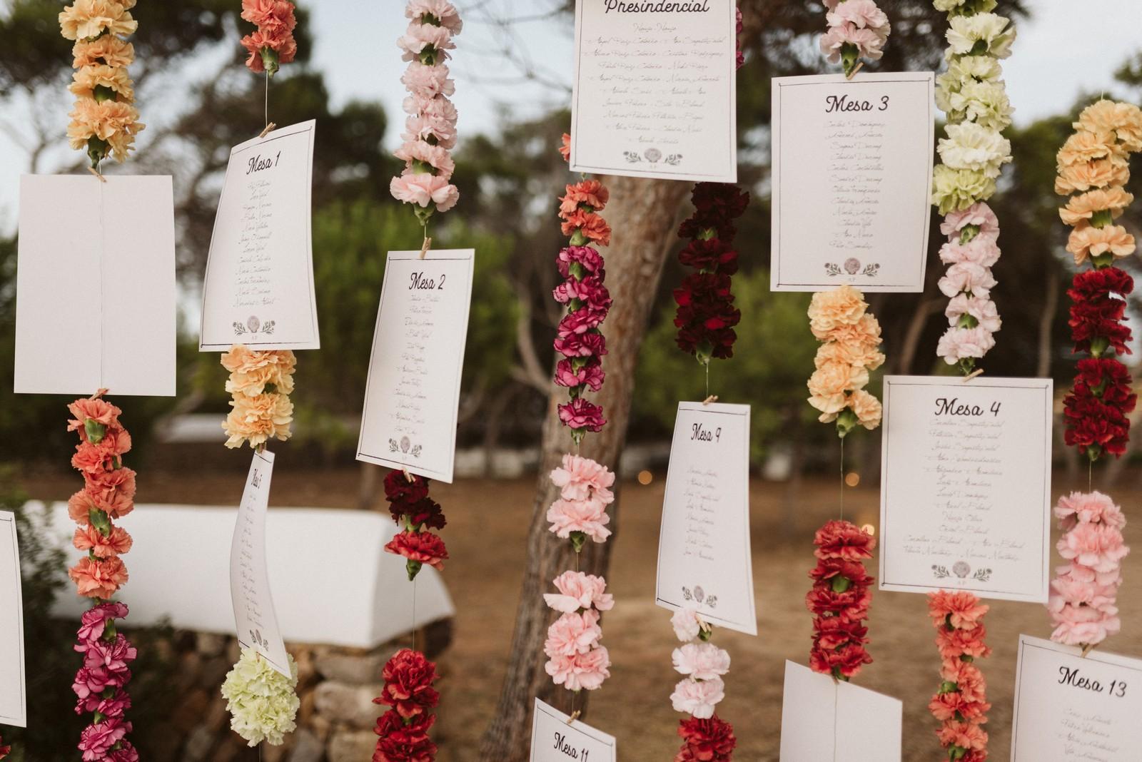 Flores para bodas y eventos en Menorca
